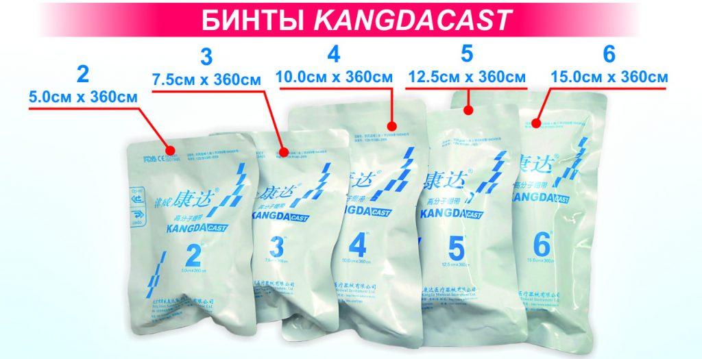 Бинты Kangdacast